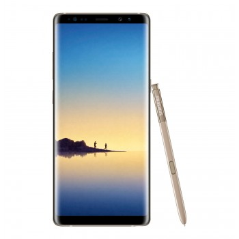 "Samsung Galaxy Note 8 (2017) 6.3"" Super AMOLED Smartphone - 64gb, 6gb, 12mp, 3300mAh, Gold"