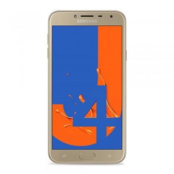 """Samsung Galaxy J4 5.5"""" HD Super AMOLED SmartPhone (2018) - 16gb, 2gb, 13mp, 300mAh, Gold"""