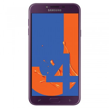 """Samsung Galaxy J4 5.5"""" HD Super AMOLED SmartPhone (2018) - 16gb, 2gb, 13mp, 300mAh, Purple"""