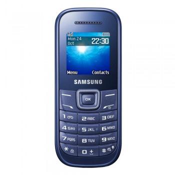 """Samsung Keytone E1200 1.52"""" TFT Basic Phone - GSM 2G, 800mAh, Blue"""