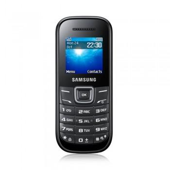 """Samsung Keytone E1200 1.52"""" TFT Basic Phone - GSM 2G, 800mAh, Black"""