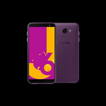 """Samsung Galaxy J6 5.6"""" HD+ Super AMOLED SmartPhone (2018) - 32gb, 3gb, 13mp, 3000mAh, Purple"""